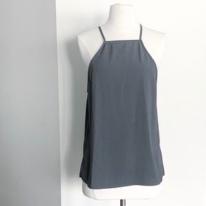 AMERICAN APPAREL Grey Racerback Tank Top